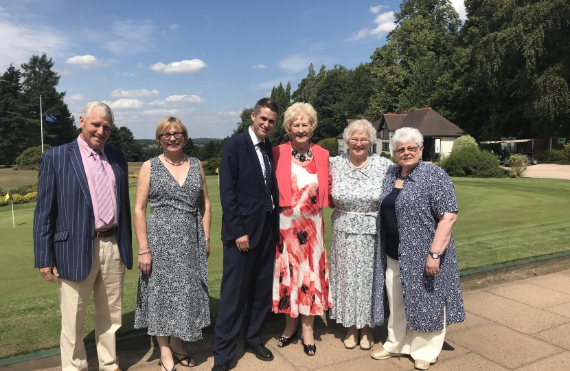Gavin visits South Staffs