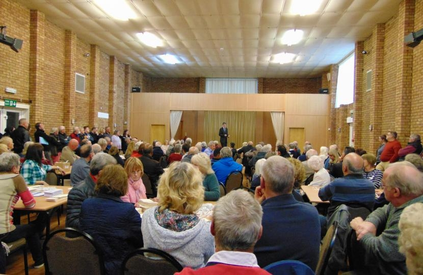 Coven Memorial Hall public meeting