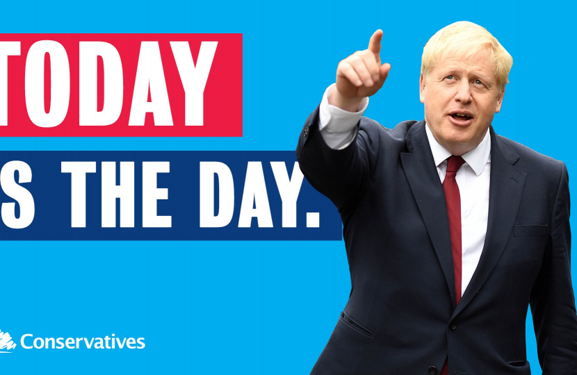 Today is the day to leave the EU