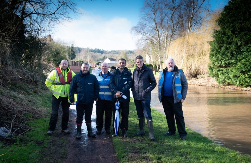 Gavin with Canal and River Trust